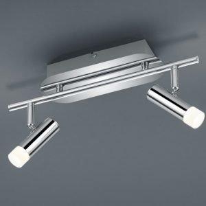 LED-kattospotti Zidane 340x120x175 mm 3-osainen kromi