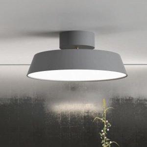 LED-kattovalaisin Alba 12W 840lm 3000K Ø 300x130 mm suunnattava harmaa