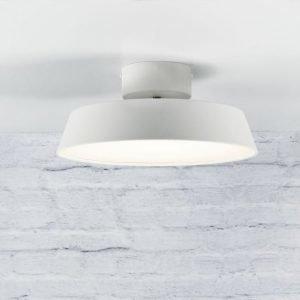 LED-kattovalaisin Alba 12W 840lm 3000K Ø 300x130 mm suunnattava valkoinen