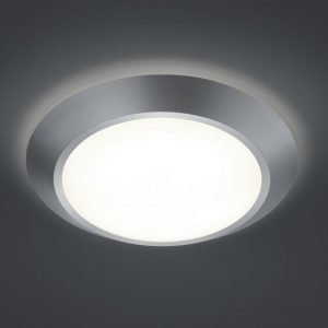 LED-kattovalaisin Astra Ø 380x85 mm harmaa