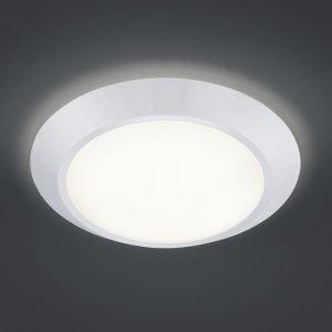LED-kattovalaisin Astra Ø 380x85 mm valkoinen
