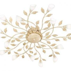 LED-kattovalaisin Botanice Ø 800x105 mm 15-osainen antiikkivalkoinen