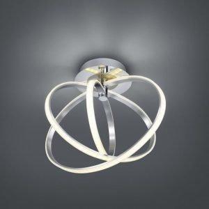 LED-kattovalaisin Corland 480x380x400 mm kromi