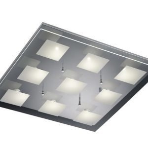LED-kattovalaisin Piazza 600x600x80 mm kromi