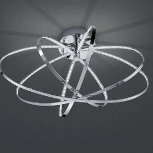 LED-kattovalaisin Prater Ø 600x355 mm kromi