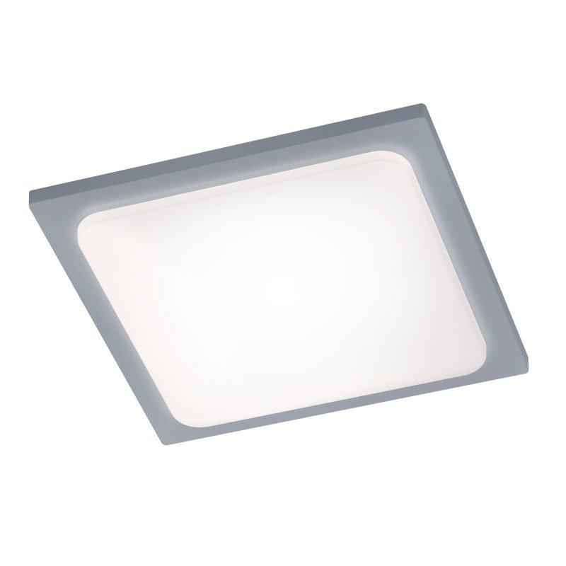 LED-kattovalaisin Trave 250x250x50 mm titaani