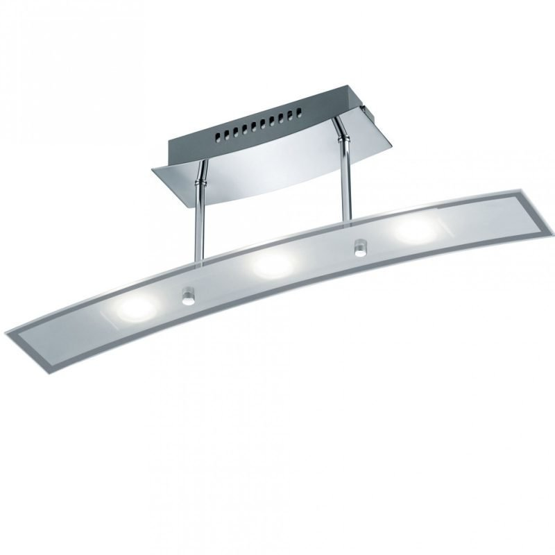LED-kattovalaisin Wing 550x90x180 mm kromi/opaalilasi