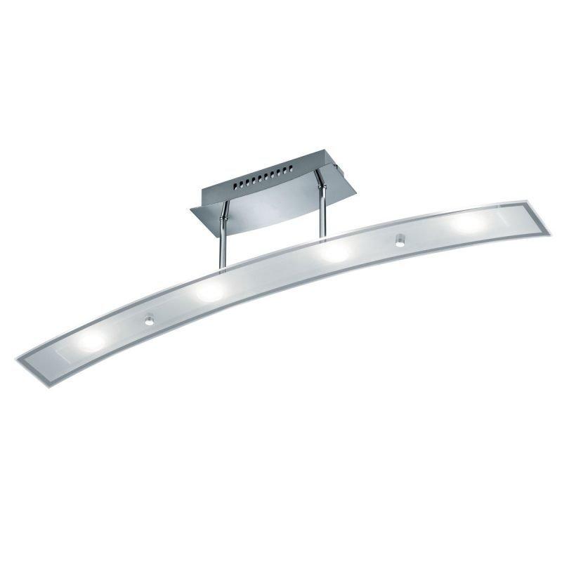 LED-kattovalaisin Wing 800x90x180 mm kromi/opaalilasi