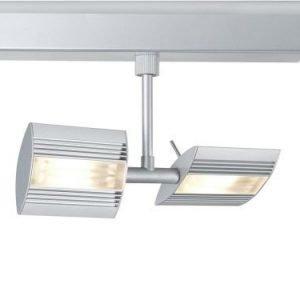 LED-kiskovalaisin URail Linear 230x125x65 mm 2-osainen mattakromi