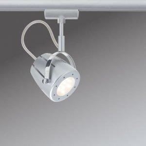 LED-kiskovalaisin URail Mega Ø 70x165 mm mattakromi