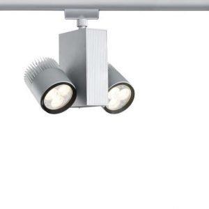 LED-kiskovalaisin URail TecLed 170x160x85 mm 2-osainen mattakromi