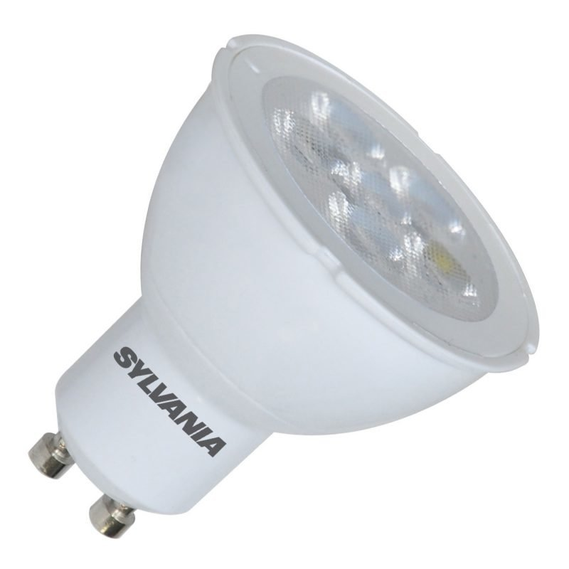 LED-kohdelamppu RefLED ES50 V2 DIM 6W 36° GU10 Ø50x54 mm 345lm 3000K himmennettävä