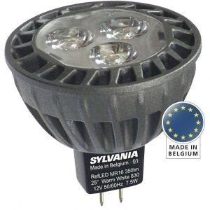 LED-kohdelamppu RefLED Superia MR16 40° SL 7W GU5.3 Ø50x47 mm 430lm 3000K himmennettävä