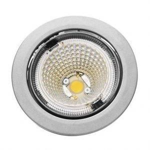 LED-kohdevalaisin Universal Design Spot S102 9W 40° 4000K vaaleanharmaa/oranssi sisä