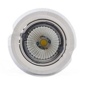 LED-kohdevalaisin Universal Design Spot S102 9W 40° 4000K valkoinen/oranssi ulko