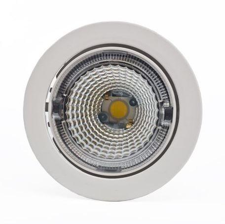 LED-kohdevalaisin Universal Design Spot S102 9W 60° 3000K valkoinen/oranssi sisä