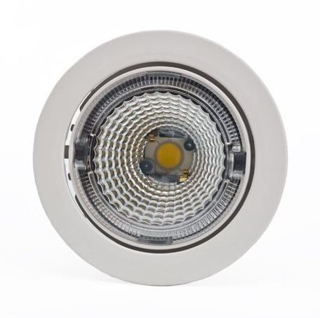 LED-kohdevalaisin Universal Design Spot S102 9W 60° 3000K valkoinen/valkoinen sisä