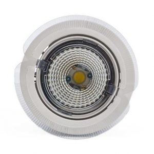 LED-kohdevalaisin Universal Design Spot S102 9W 60° 4000K valkoinen/oranssi ulko