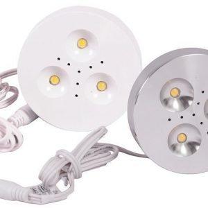 LED kohdevalosarja lisäLED hopeinen tai valkoinen