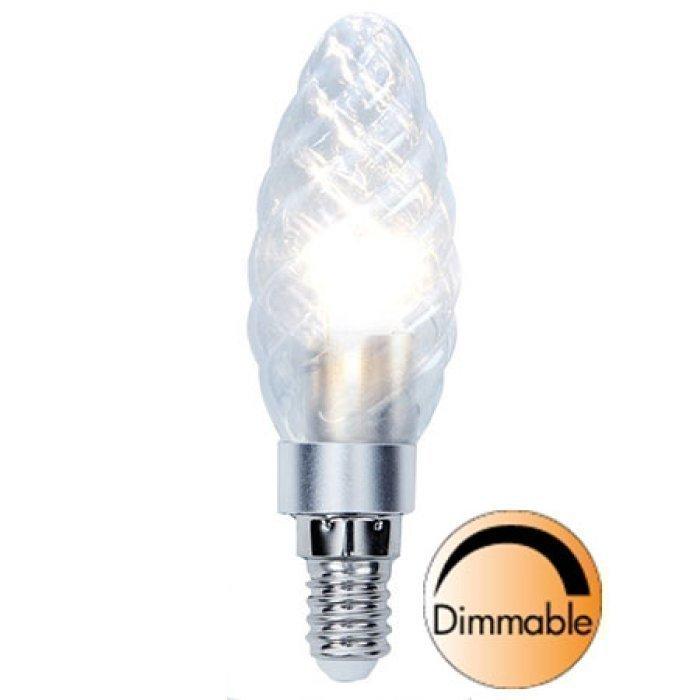 LED-kynttilälamppu Illumination LED 338-02 Ø34x111 mm E14 kirkas kierre 3