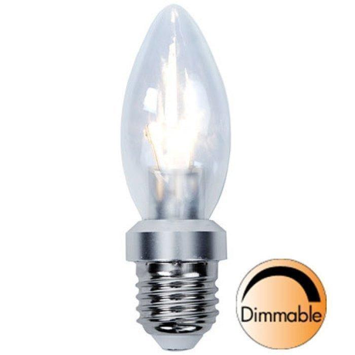 LED-kynttilälamppu Illumination LED 338-03 Ø35x115 mm E27 kirkas 4