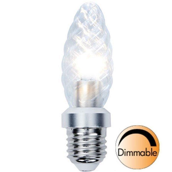 LED-kynttilälamppu Illumination LED 338-04 Ø34x115 mm E27 kirkas kierre 4