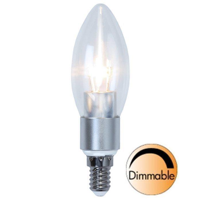 LED-kynttilälamppu Illumination LED 338-05 Ø37x121 mm E14 kirkas 5