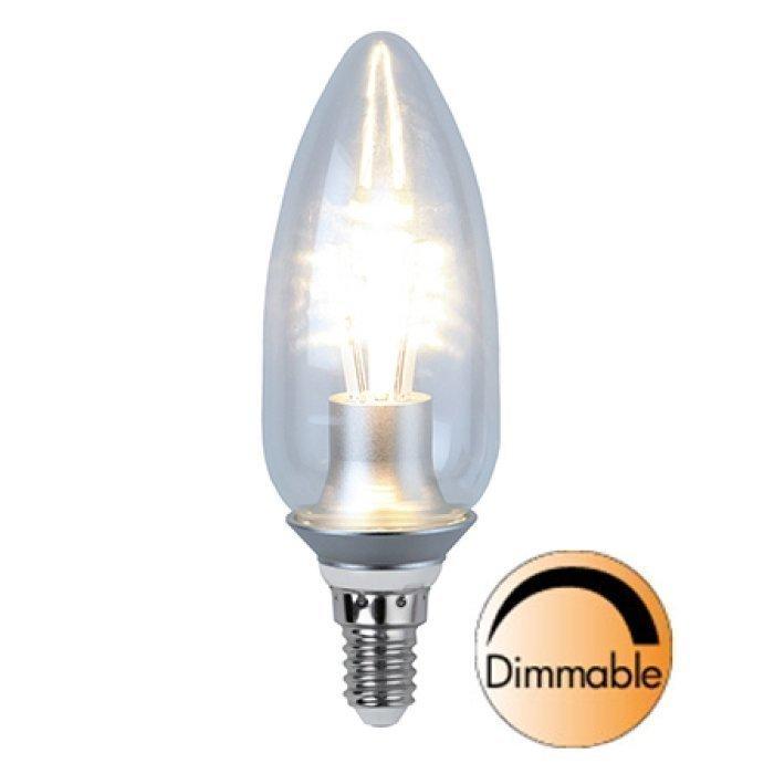 LED-kynttilälamppu Illumination LED 338-08 Ø45x128 mm E14 kirkas 4
