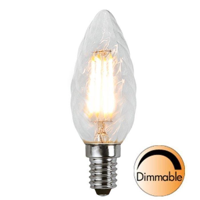 LED-kynttilälamppu Illumination LED 352-06 Ø 35x98 mm E14 kirkas kierre 3