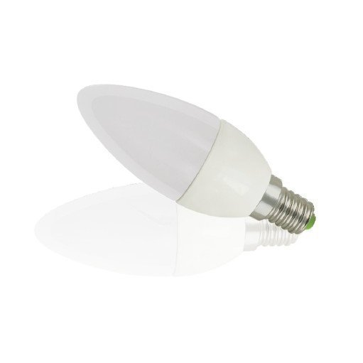 LED kynttilälamppu TEHO E14 5W 350lm lämmin valkoinen 3000K