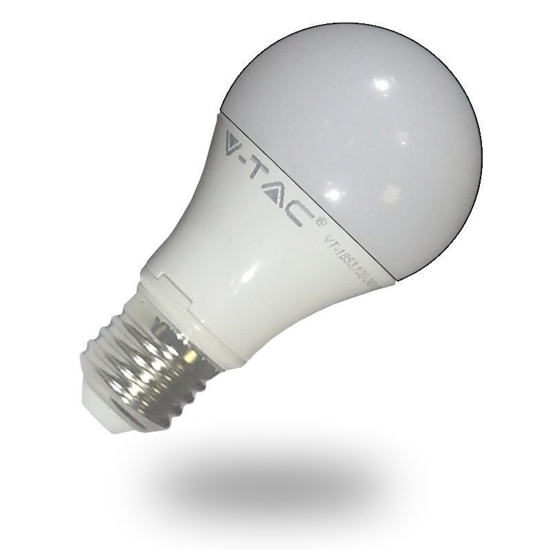 LED-lamppu A60 V-TAC VT-1853 10W 230V 2700K 806lm IP20 Ø 60mm