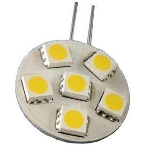 LED-lamppu Baselite Sunwind litteä G4 6SMD 1