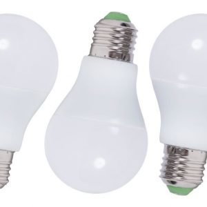 LED lamppu E27 3PACK POWER 3x7W
