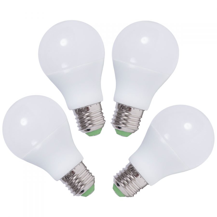 LED lamppu E27 6W 4PACK