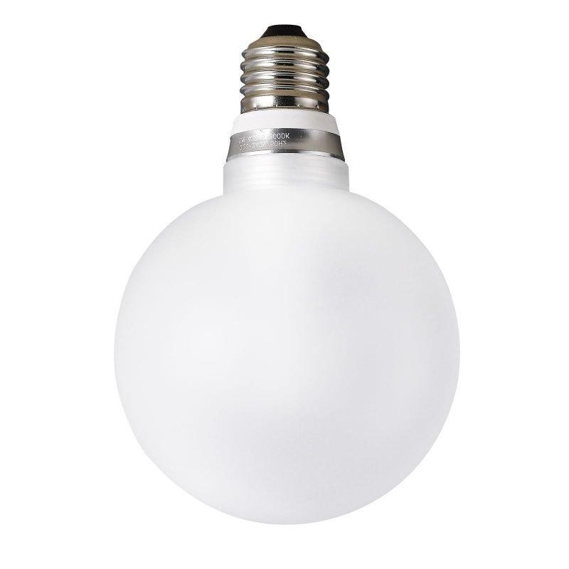 LED-lamppu Funk 5W 400lm 3000K E27 Ø 100x145 mm opaali hiottu