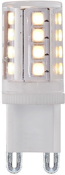 LED-lamppu G9 Lucide 4W 230V 2700K 380lm IP20 Ø 16mm valkoinen