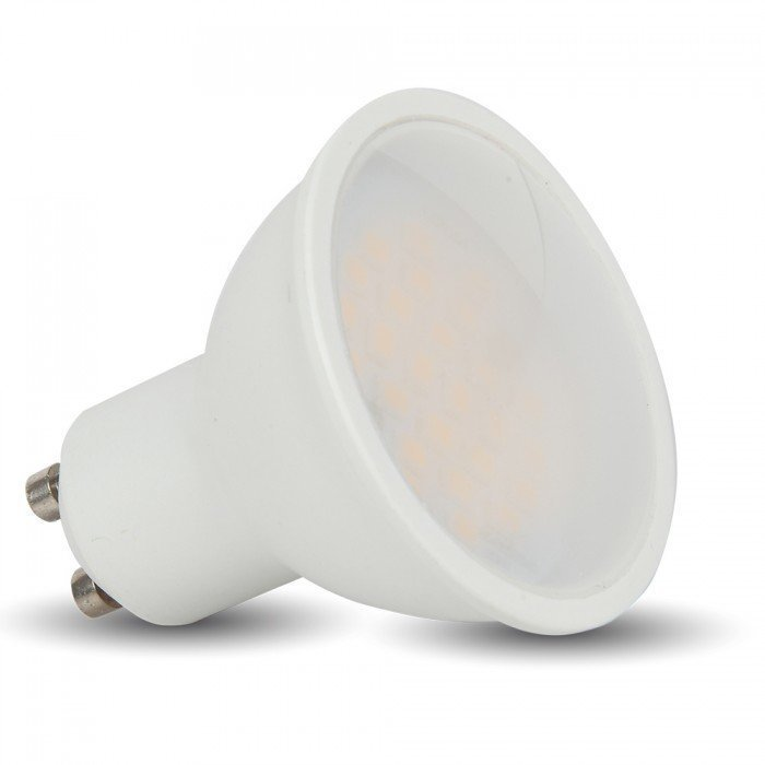 LED-lamppu GU10 V-TAC VT-1975 5W 230V 3000K 320lm IP20 Ø 50mm