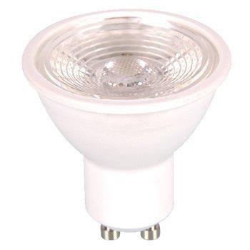 LED-lamppu GU10 V-TAC VT-2666 7W 230V 3000K 550lm IP20 Ø 50mm vaalean harmaa runko