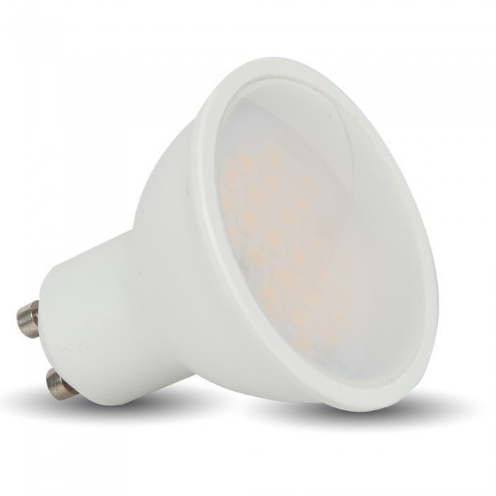 LED-lamppu GU10 V-TAC VT-2887D 7W 230V 3000K 500lm IP20 Ø 50mm