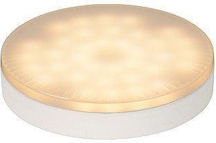 LED-lamppu GX53 Lucide 7W 230V 3000K 560lm IP20 Ø 75mm valkoinen