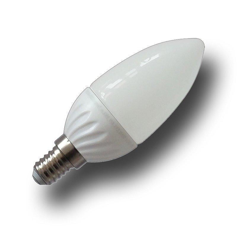 LED-lamppu Kynttilä V-TAC VT-1818 4W 230V 2700K 320lm IP20 Ø 38mm