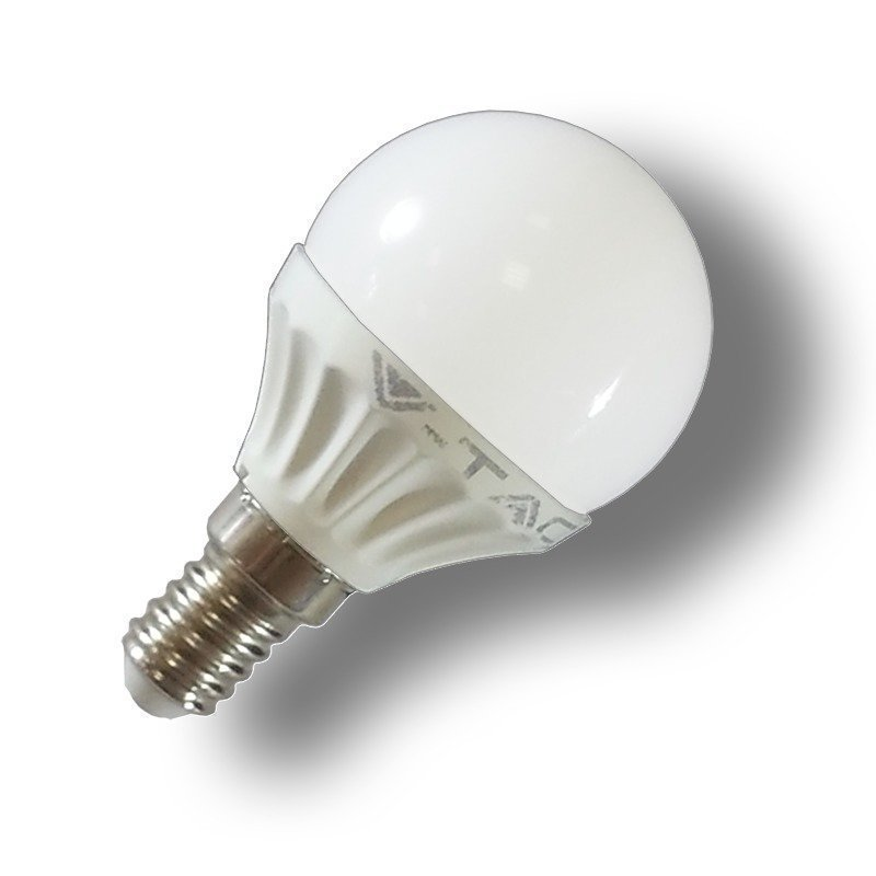 LED-lamppu P45 Pallo V-TAC VT-1819 4W 230V 4500K 320lm IP20 Ø 45mm