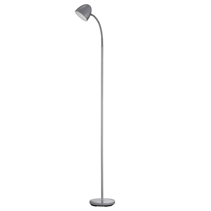 LED-lattiavalaisin Aubergine Ø 195x1500 mm harmaa/valkoinen