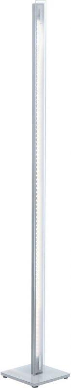 LED-lattiavalaisin Lepora 205x205x1510 mm kromi/valkoinen