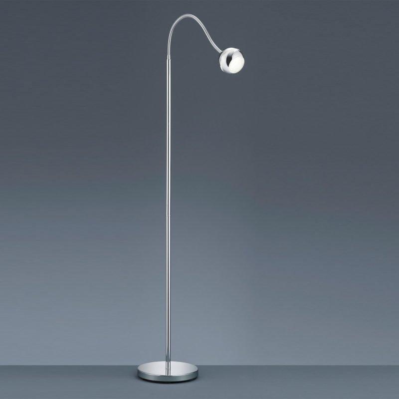 LED-lattiavalaisin Plump 450x1250 mm kromi