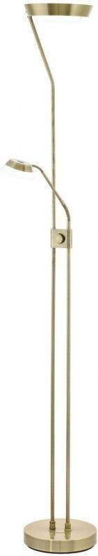 LED-lattiavalaisin Sarrione pronssi himmenninkytkin keinukytkin