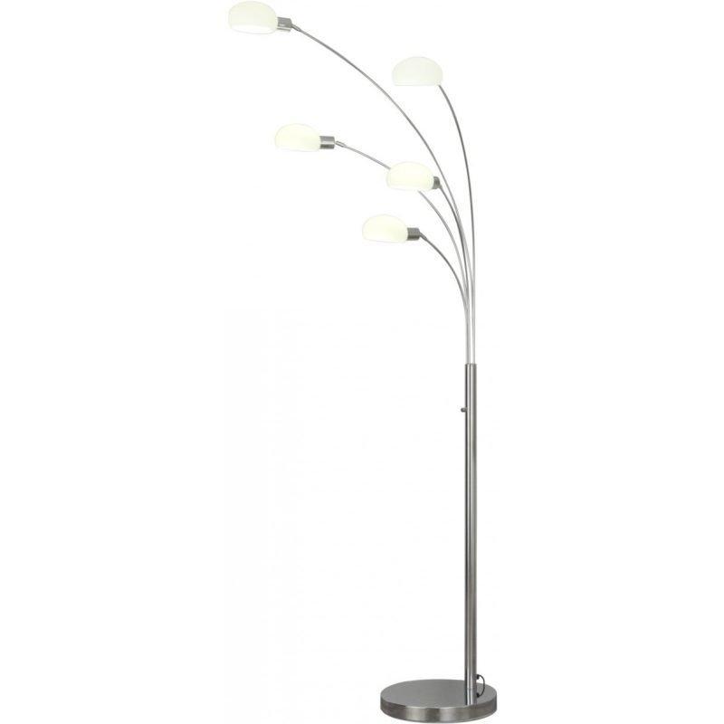 LED-lattiavalaisin Scan Lamps Kult 1000x870x2080 mm 5-osainen kromi