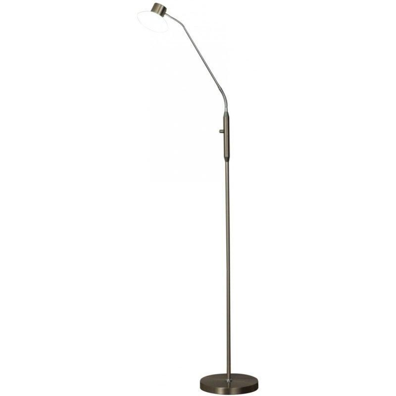 LED-lattiavalaisin Scan Lamps Tomo 230x520x1350 mm satiiniteräs