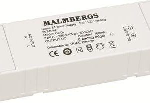 LED-liitäntälaite MB 129x36x21 mm 16V 700mA 3-4 kpl/2