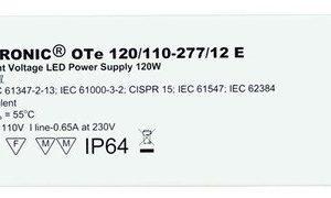 LED-liitäntälaite Triton 120W OTE IP64 12/230V 258x52x45 mm